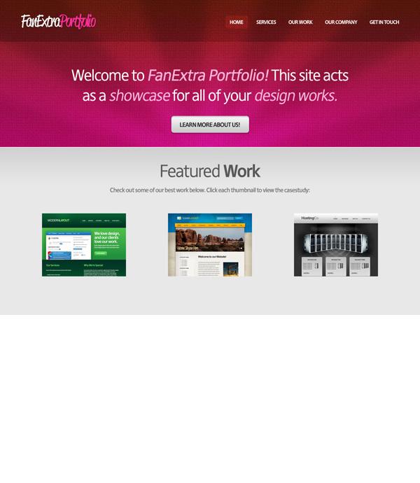 textureportfolio17 Design a Cool Textured Portfolio Website