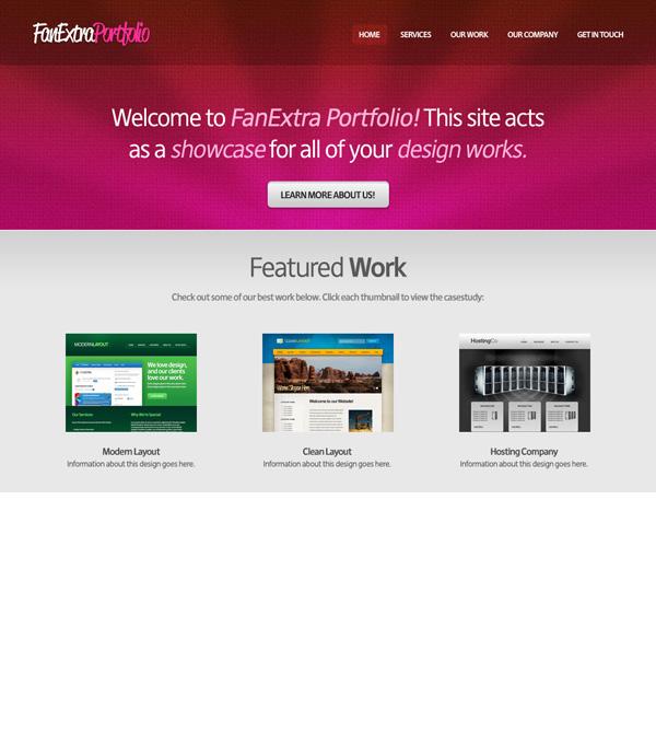 textureportfolio18 Design a Cool Textured Portfolio Website