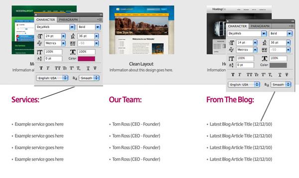 textureportfolio20 Design a Cool Textured Portfolio Website