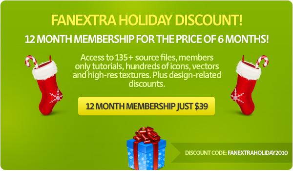 xmasdiscount1 FanExtra BIG Holiday Discount! (Last Chance)