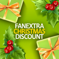 FanExtra BIG Christmas Discount!