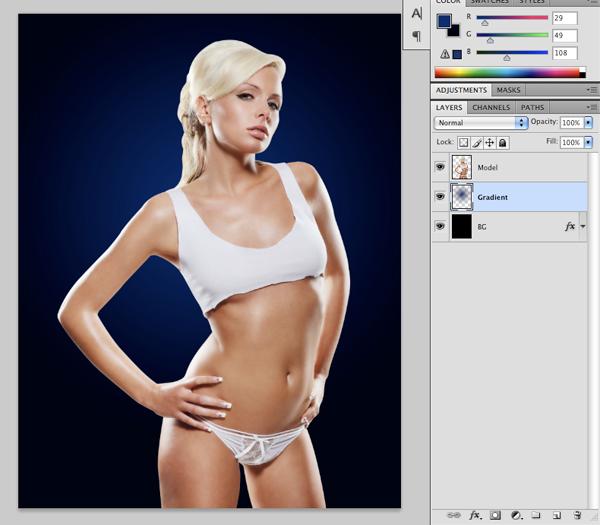 Cyborg 04 c Tutorial Photoshop Criar uma mulher Robô photoshop