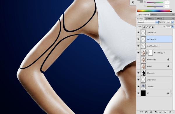 Cyborg 10 Tutorial Photoshop Criar uma mulher Robô photoshop