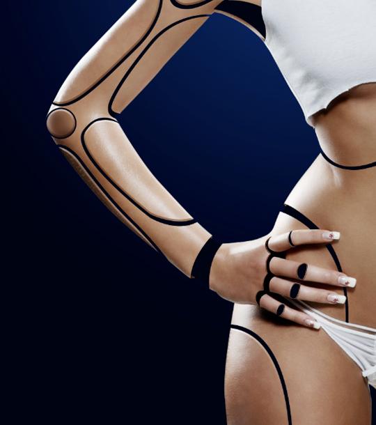 Cyborg 26 b Tutorial Photoshop Criar uma mulher Robô photoshop