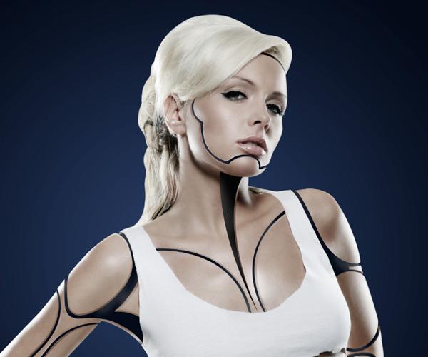 Cyborg 33 Tutorial Photoshop Criar uma mulher Robô photoshop