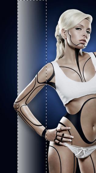 Cyborg 37 c Tutorial Photoshop Criar uma mulher Robô photoshop