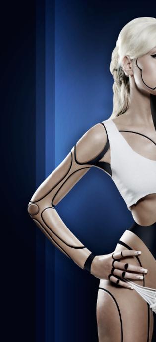 Cyborg 38 Tutorial Photoshop Criar uma mulher Robô photoshop
