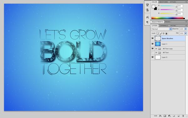 Underwater Type 11 Create An Underwater Typography Scene