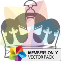 Premium Vector Pack: Crowns