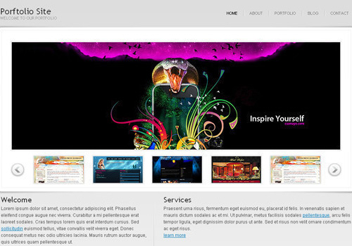 freetemplates13 34 Free & Beautiful xHTML/CSS Templates