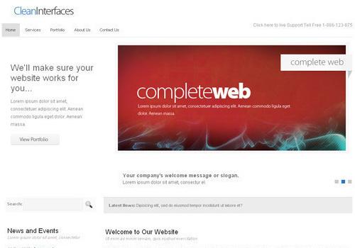 freetemplates17 34 Free & Beautiful xHTML/CSS Templates