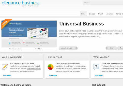 freetemplates21 34 Free & Beautiful xHTML/CSS Templates