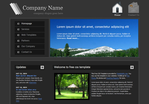 freetemplates24 34 Free & Beautiful xHTML/CSS Templates
