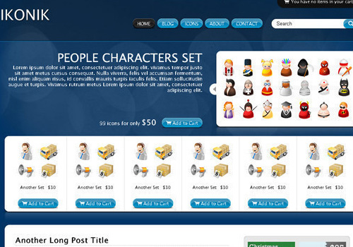 freetemplates29 34 Free & Beautiful xHTML/CSS Templates