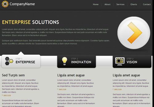 freetemplates3 34 Free & Beautiful xHTML/CSS Templates