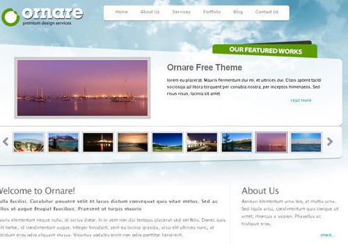 34 Free & Beautiful xHTML/CSS Templates | PSDFan