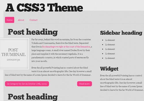 freetemplates33 34 Free & Beautiful xHTML/CSS Templates