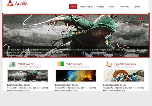 freetemplates6 34 Free & Beautiful xHTML/CSS Templates