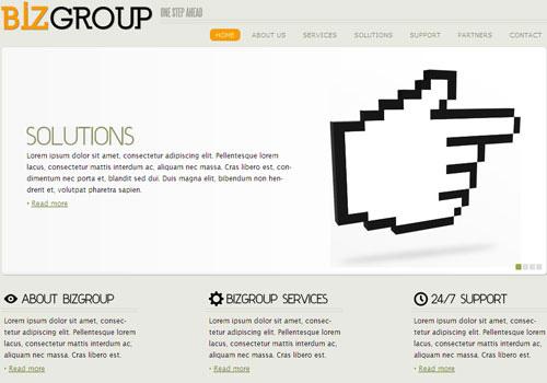 freetemplates9 34 Free & Beautiful xHTML/CSS Templates
