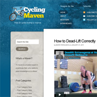 30 Minute Redesign: Cycling Maven
