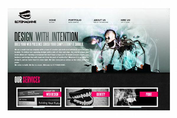 web design portfolio examples 33 fresh and beautiful portfolio designs