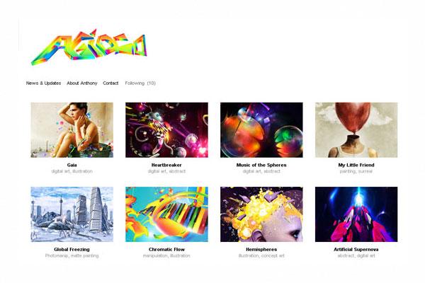33 Fresh and Beautiful Portfolio Designs | PSDFan