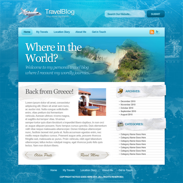 how to post a travel blog