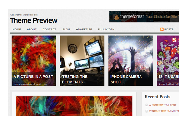 33 - Themes Wordpress Gratuitos