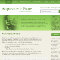 30 Minute Redesign: Acupuncture in Exeter
