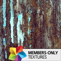 Premium Texture Set: Blue on Wood
