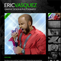 30 Minute Redesign: Eric Vasquez