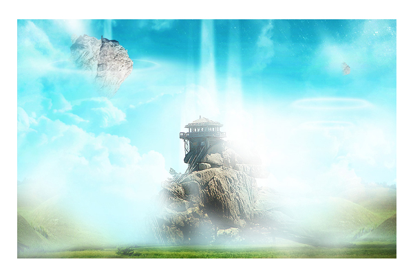 Photoshop Tutorials To Create Surreal Artwork PSDFan - Photographer combines photoshops his own photos to create surreal landscapes