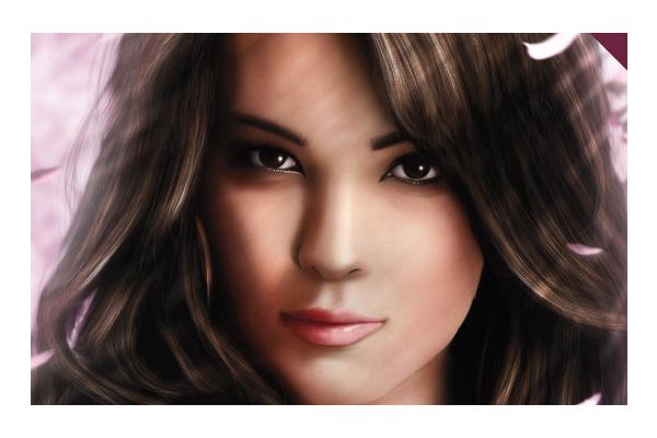 Digital Portrait Drawing Tutorial Portrait Painting