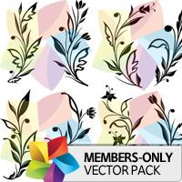 Premium Vector Pack: Floral