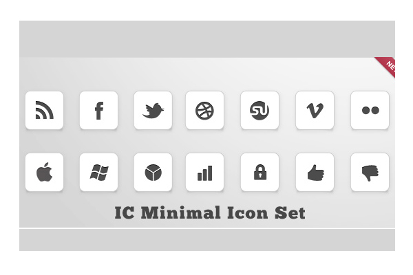 32 Elegant and Minimalist Icon Packs   PSDFan