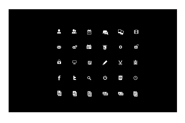 32 Elegant and Minimalist Icon Packs | PSDFan
