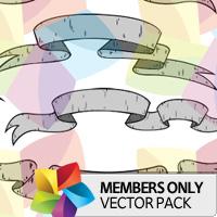 Premium Vector Pack: Scrolls