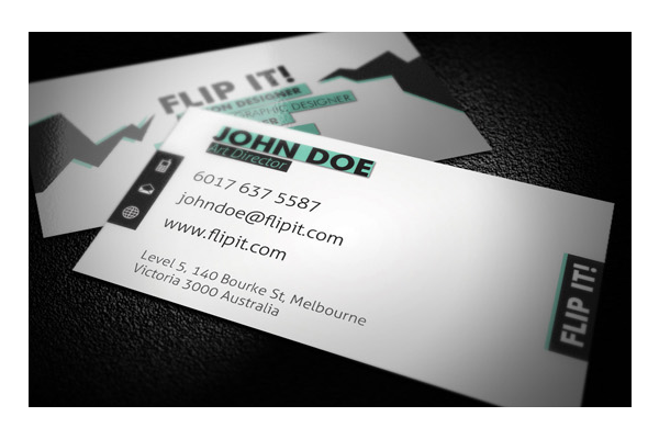 30 appealing and well designed business cards psdfan flip it business card colourmoves
