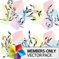 Premium Vector Pack: Floral 3