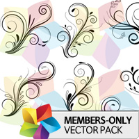 Premium Vector Pack: Floral 4