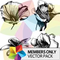 Premium Vector Pack: Floral 2