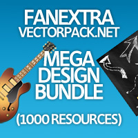 FanExtra VectorPack.net Mega Design Bundle (1000 Resources!)