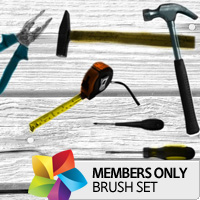 Premium Brush Set: Tools