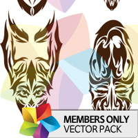 Premium Vector Pack: Tribal Masks