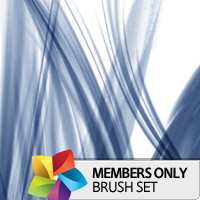 Premium Brush Set: Abstract Lights