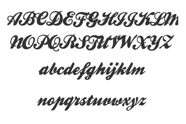 Free premium elegant calligraphic fonts