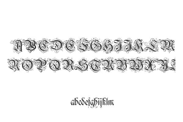 calligraphic fonts