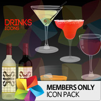 Premium Icon Pack: Drinks