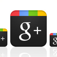 Design a Sleek Google+ Icon (Plus Free Google+ Icon Set Download)