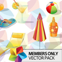 Premium Vector Pack: Summer